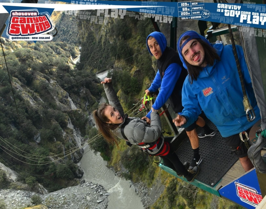 My Canyon Fox Canyon Swing Experience In Queenstown Nz